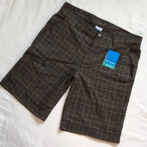 Columbia Omni-wick Curtis Creek Shorts NWT